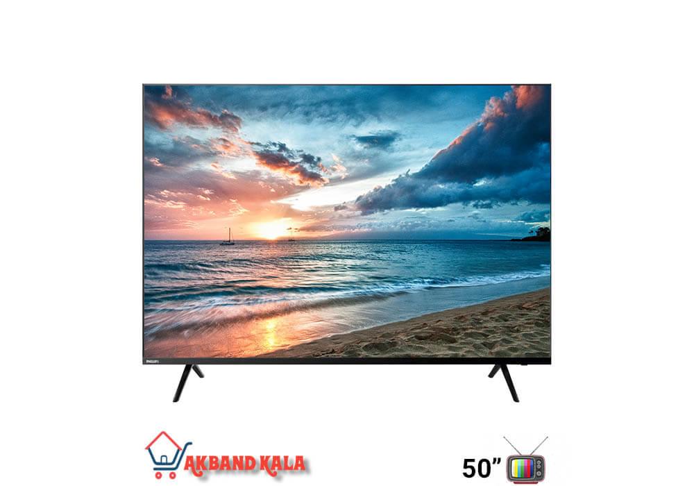 تلویزیون 50 اینچ هوشمند فیلیپس مدل 50PUT6004