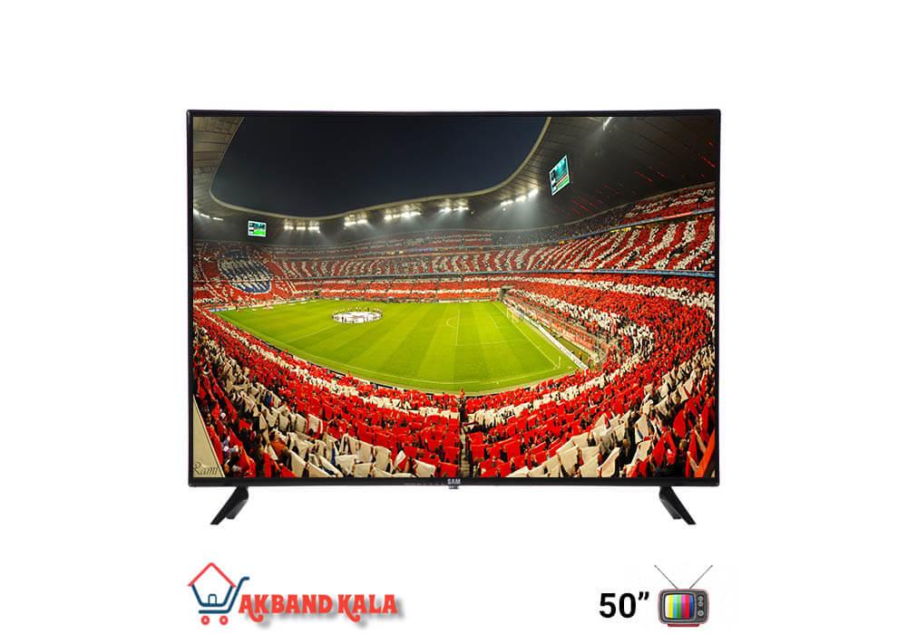 تلویزیون 50 اینچ هوشمند سام الکترونیک مدل 50T6000