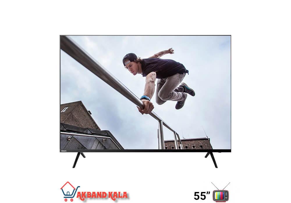 تلویزیون 55 اینچ هوشمند فیلیپس مدل 55put6004