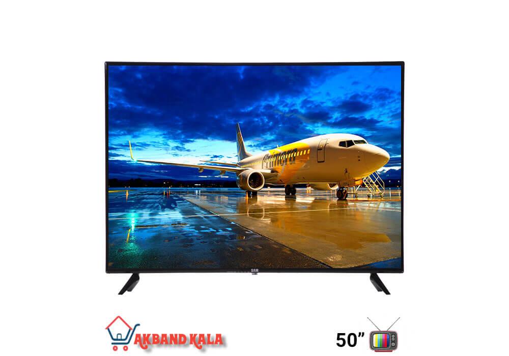 تلویزیون 58 اینچ هوشمند سام الکترونیک مدل 58T6550
